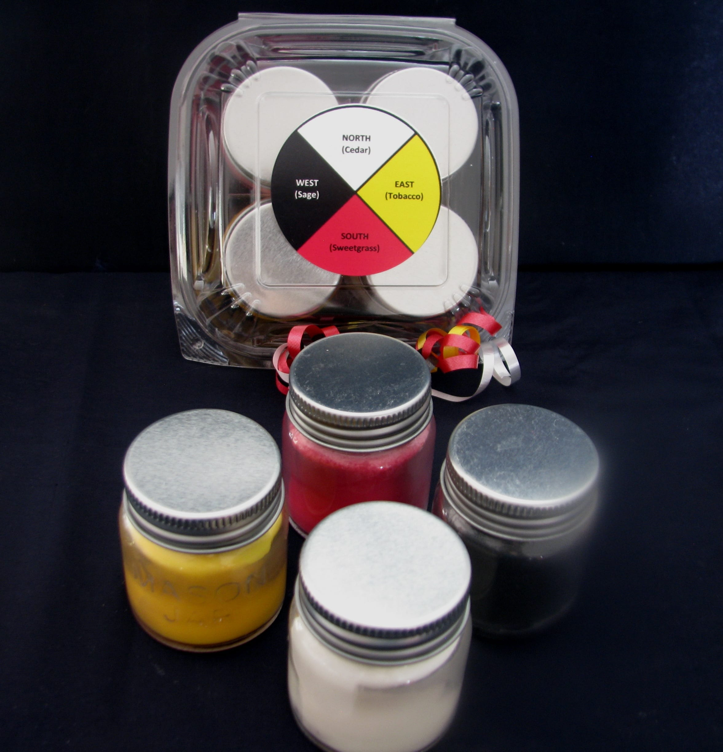 wick-it naturals, indigenARTSY, candles, soy, knitted aparrel