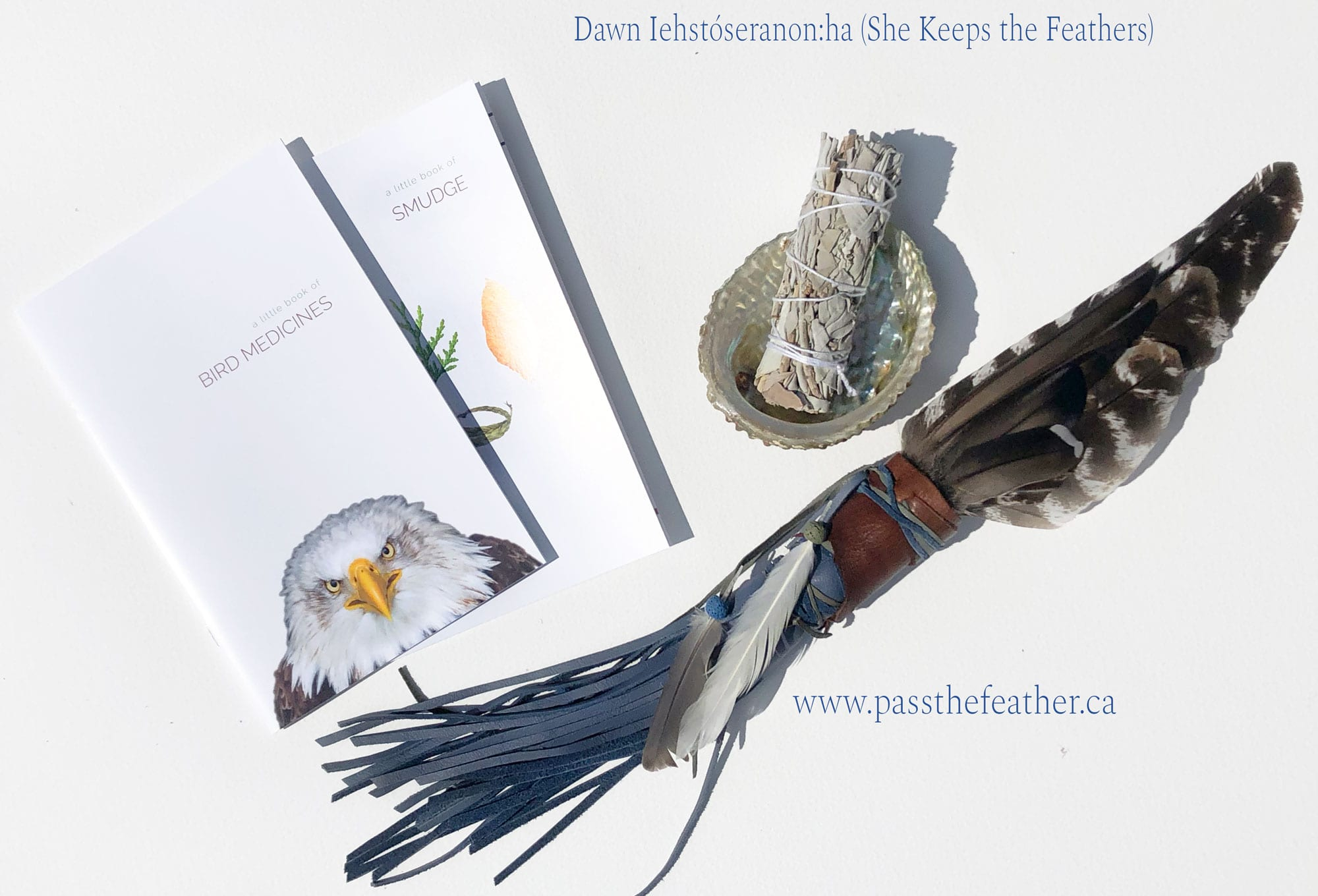 christmas ornament, feathers, pass the feather, dawn, christmas card