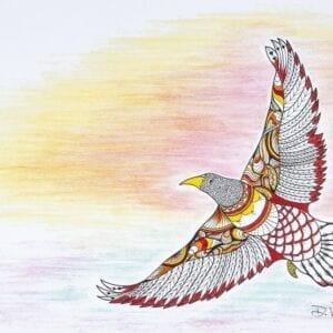 Debra Vincent, Mohawk Artist, Tyendinaga