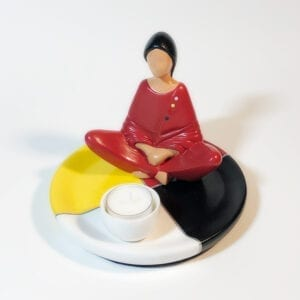 Millside ceramics, marleen murphy, indigenartsy, pass the feather