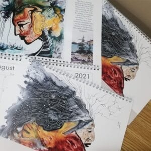 Indigenous art calendars