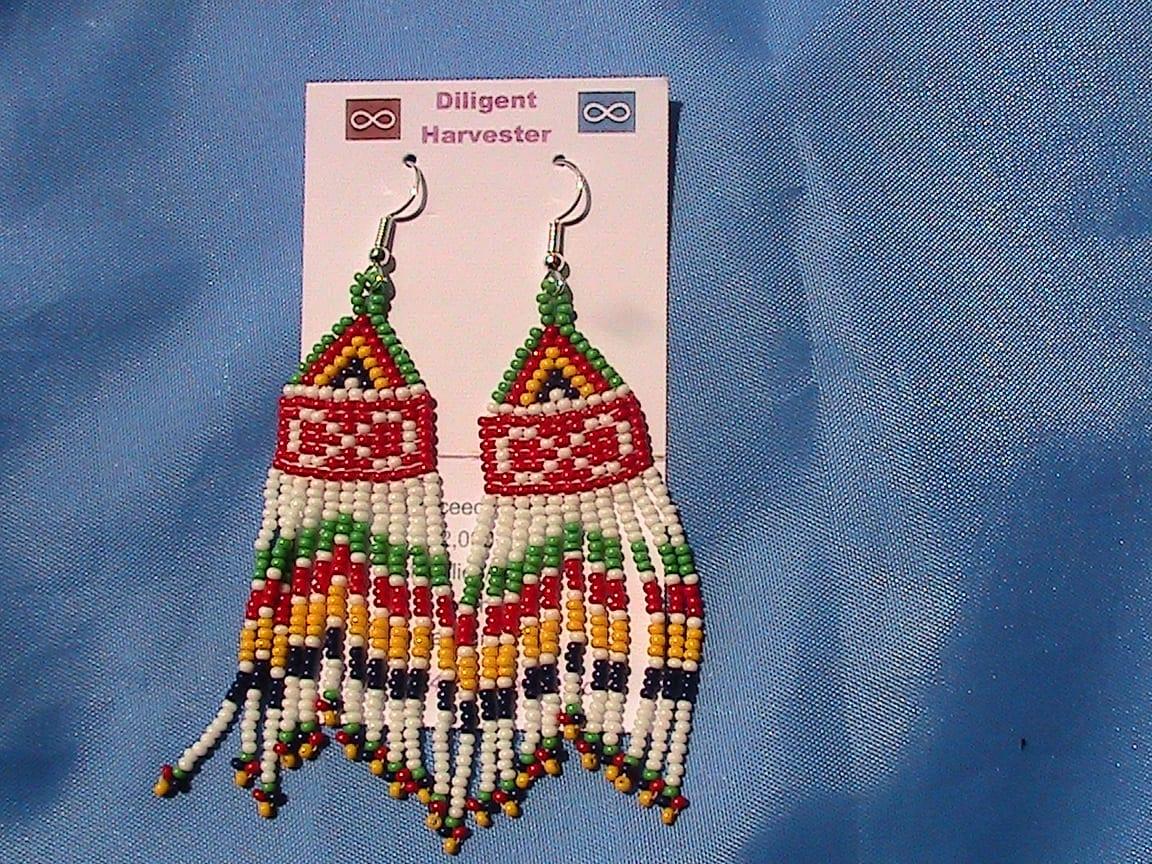 metis hbc fringe earrings