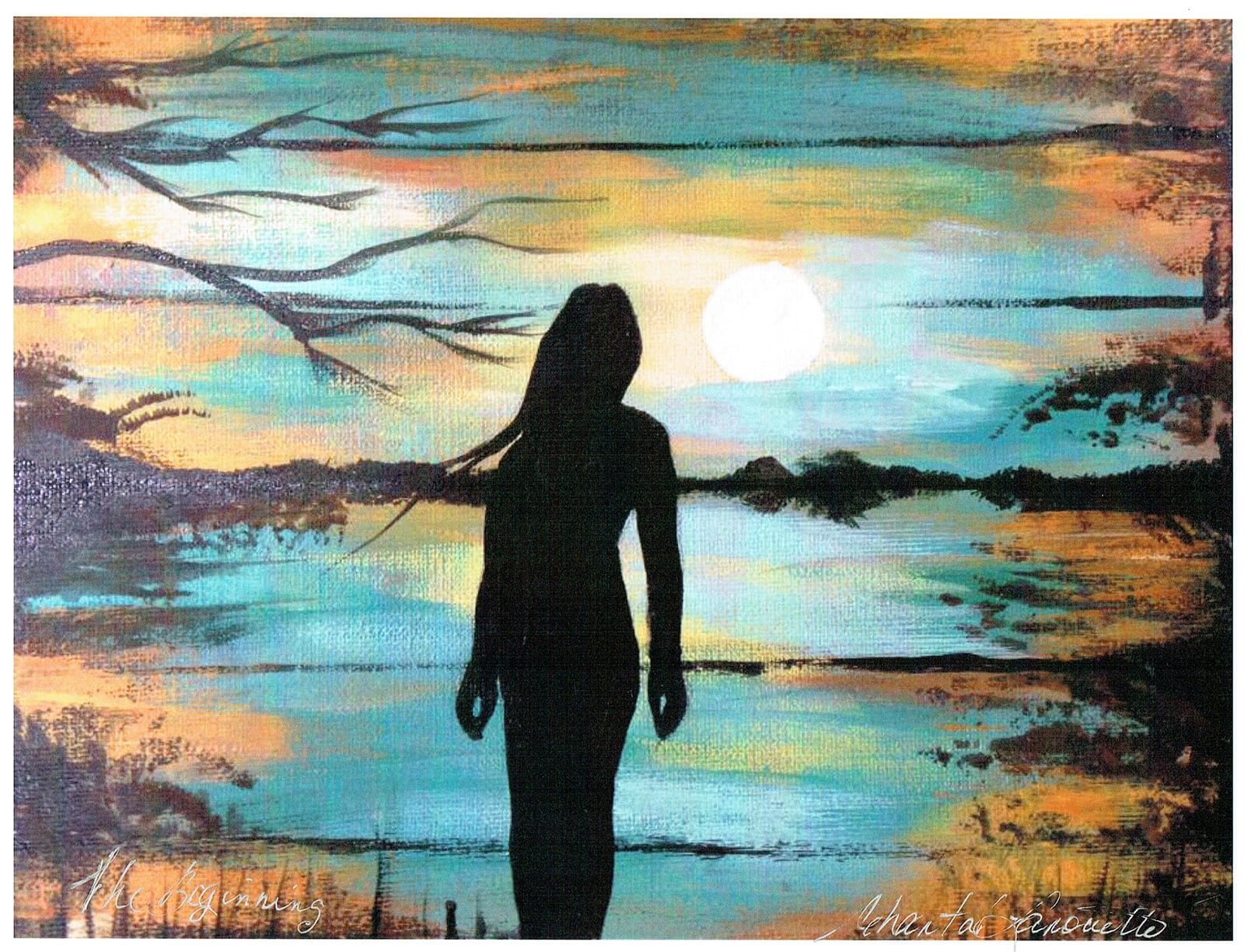 Indigenous artist, native artist, native american art, first nations art, Chantal Lanouette, pass the feather, IndigenARTSY, Indigenous arts collective of canada