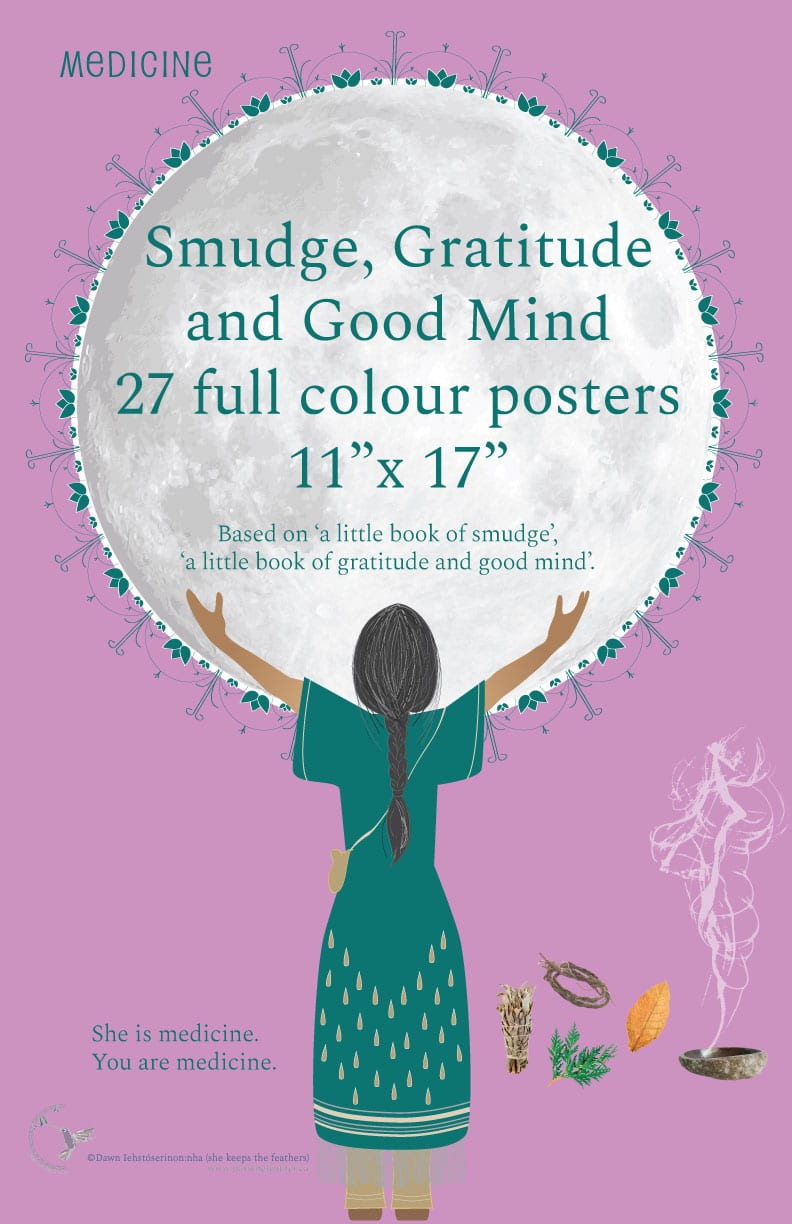 pass the feather, prints, posters, smudge