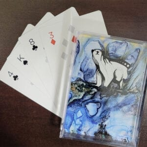 Art design playing cards