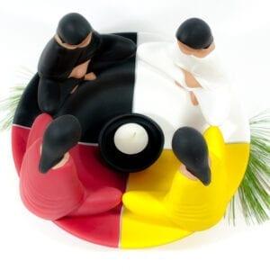 friendship circle, ceramics, indigenartsy