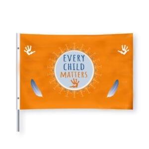 every child matters, residential school, remember me, september 30, orange shirt day, flag