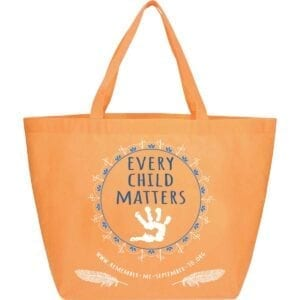every child matters, residential school, remember me, september 30, orange shirt day, tote bag