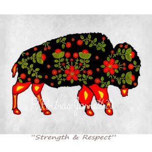 Spirit Buffalo, Buffalo Totem